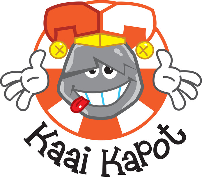 Het logo van Kaai Kapot.