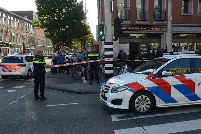 Het slachtoffer werd met spoed naar het ziekenhuis gebracht.
