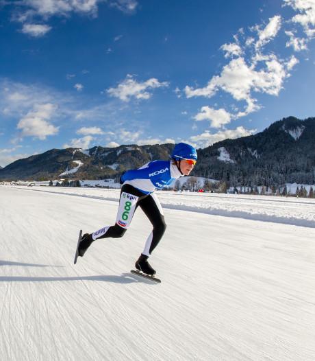 Gouden medailles in Oostenrijk en Italië voor Ellecomse schaatsster Eva van Rheenen-Riemersma