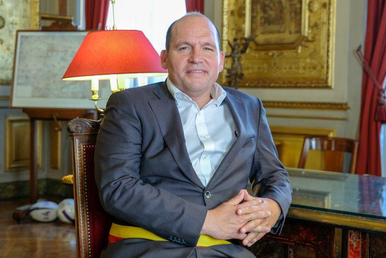 Burgemeester Philippe Close