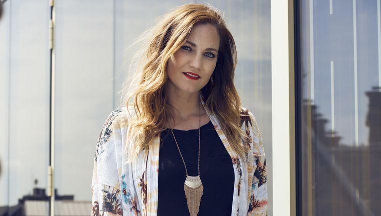 Blogger Anne de Buck. Beeld Linda Stulic