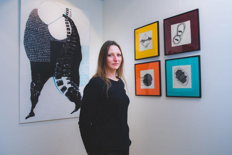 Lieselot Pollin stelt haar werk voor