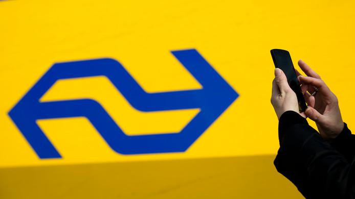 Logo van NS, foto ter illustratie.