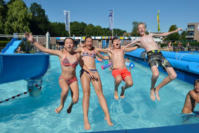 Zwembad Ons Polderbad in Stolwijk.