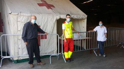 Coronatests worden voortaan ook uitgevoerd in loods van Weelde Depot