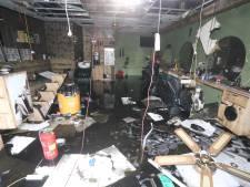 Amon en Barbershop 56 in Heeswijk-Dinther uitgebrand, ook naastliggende panden lopen schade op