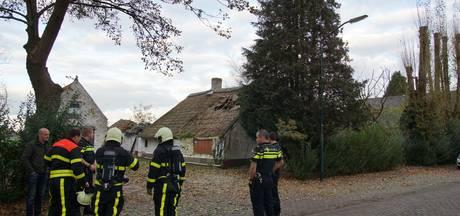 Gas lekt uit leegstaand pand Kaatsheuvel na diefstal koperen leiding