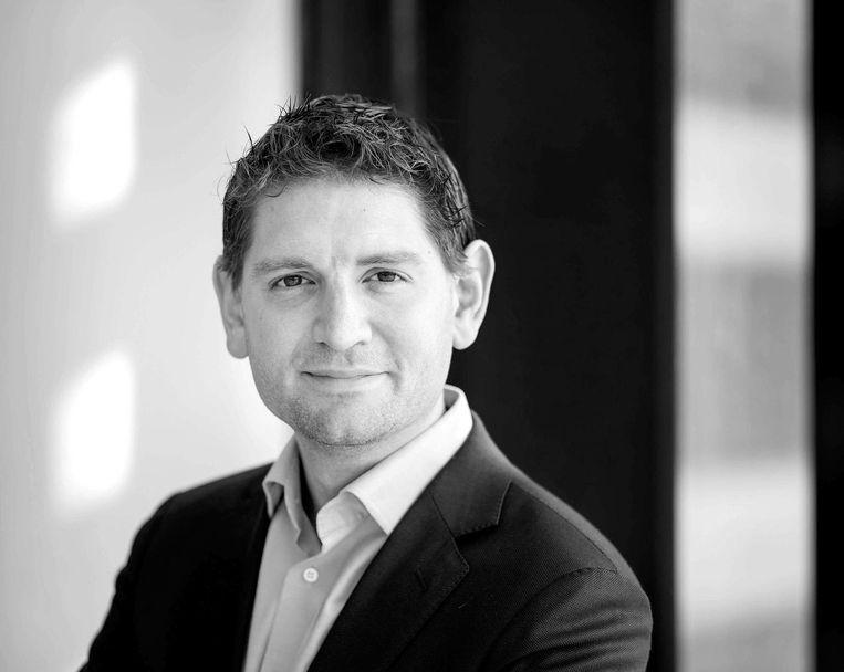 Jan Paternotte is fractievoorzitter van D66 in Amsterdam en kandidaat-Kamerlid Beeld ANP