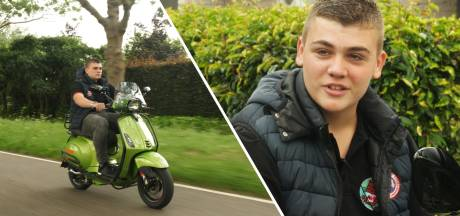 Michon (17) gaat op de scooter naar Spanje: 'Vliegen vind ik maar saai'