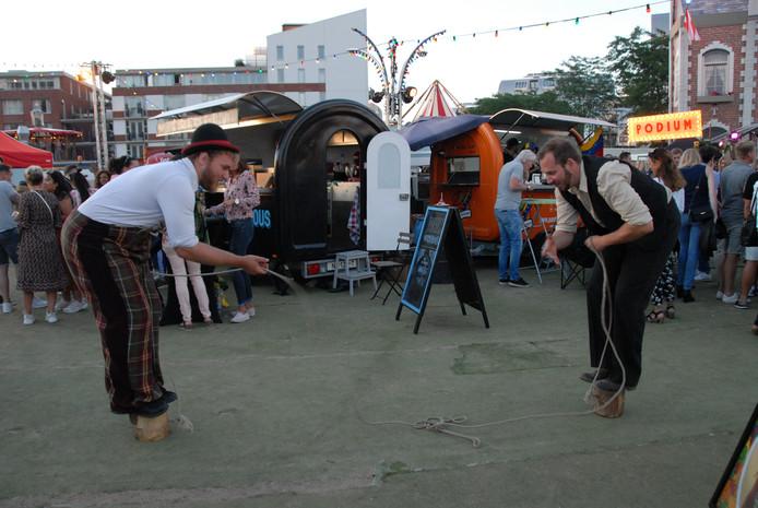 Foodtruckfestival Trek in het Paleiskwartier