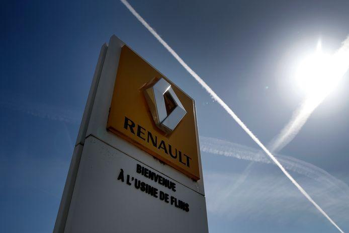 L'usine Renault de Flins, en Île-de-France.