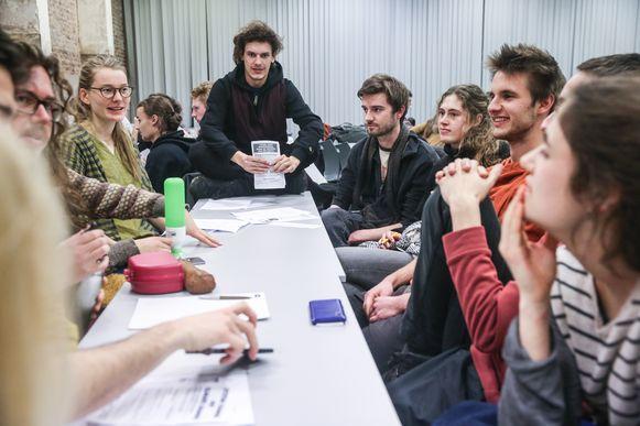 Students for Climate Gent bedenkt actieplannen