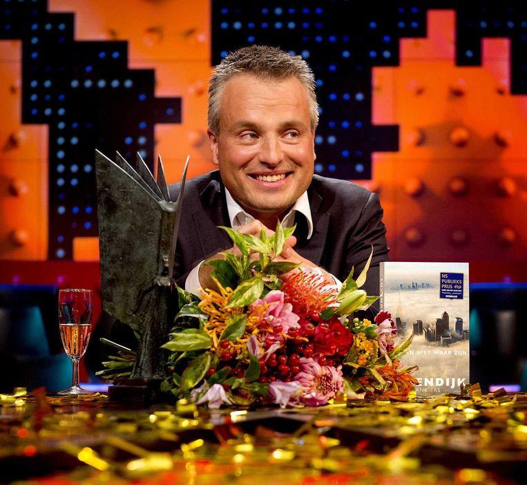 Joris Luyendijk bij 'De Wereld Draait Door'. Beeld anp