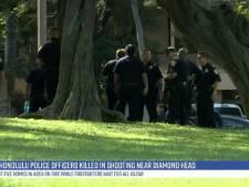 Schietpartij in Hawaï: twee agenten en schutter dood