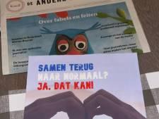 Krant tegen coronamaatregelen valt op deurmat in Zuid-Beijerland: 'Ik vind het ongepast'