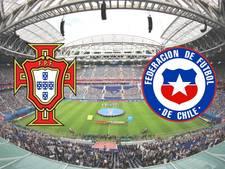 LIVE: Chili en Portugal doen stadion smullen