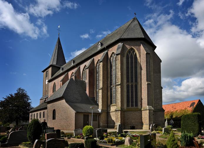 De kerk in Kranenburg