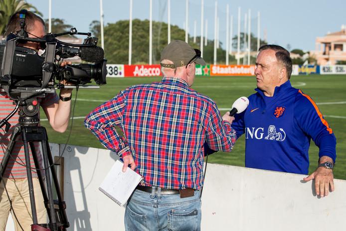 Bert Maalderink in gesprek met Dick Advocaat