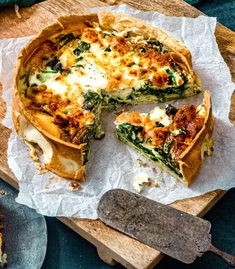 Wat Eten We Vandaag: Spinazietaart met halloumi