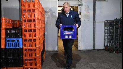 """Boris Johnson """"verbergt zich in koelkast"""" om te ontsnappen aan interview"""