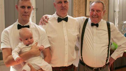 Björn vervolledigt viergeslacht familie Borgez