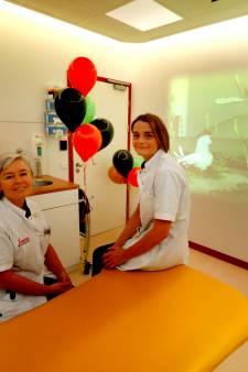 Speciaal scherm in Vlietland Ziekenhuis helpt kinderen rustig worden