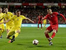 Portugal kent stroef begin met gelijkspel tegen Oekraïne