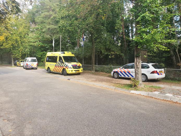 Hulpdiensten zijn aanwezig bij Sauna & Beauty de Thermen in Nijmegen.