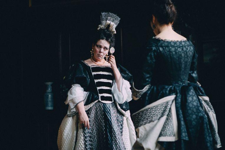 Olivia Colman als koningin Anne in The Favourite (2018). Beeld