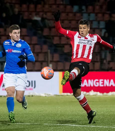 Ook PSV-jeugd niet bestand  tegen de druk van de stip
