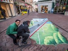 Ruhrgebied werft toeristen met 3D-straatkunst in Arnhem