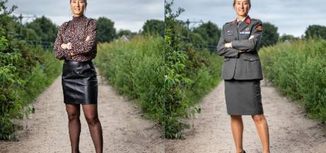 Soestse Gwenda (40), bekend van Expeditie Robinson, is luitenant-kolonel: 'Vrouwen kunnen dit óók'