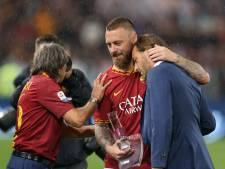Totti en 70.000 Roma-fans in tranen bij afscheid van clublegende De Rossi