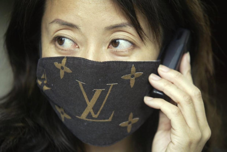 Louis Vuitton maakte mondkapjes tijdens de Sars-epidemie in 2003.