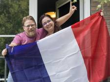 Hengeloër kijkt finale met zijn Franse vriendin op terrasje in Dijon