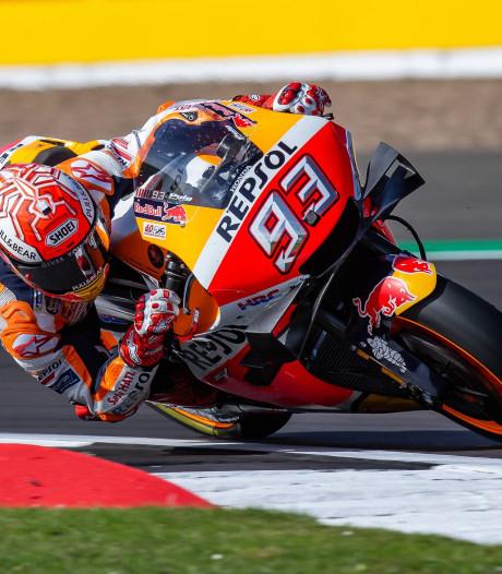 Márquez verovert voor zestigste keer pole in MotoGP