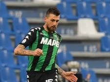 Van kanker herstelde Sassuolo-speler maakt 100 duels vol