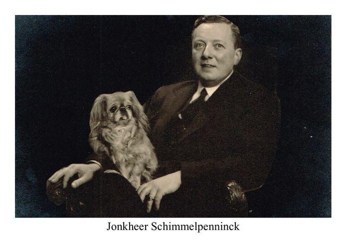 Jonkheer Johan Schimmelpenninck oogde bepaald niet als een heldhaftig verzetsstrrijder.
