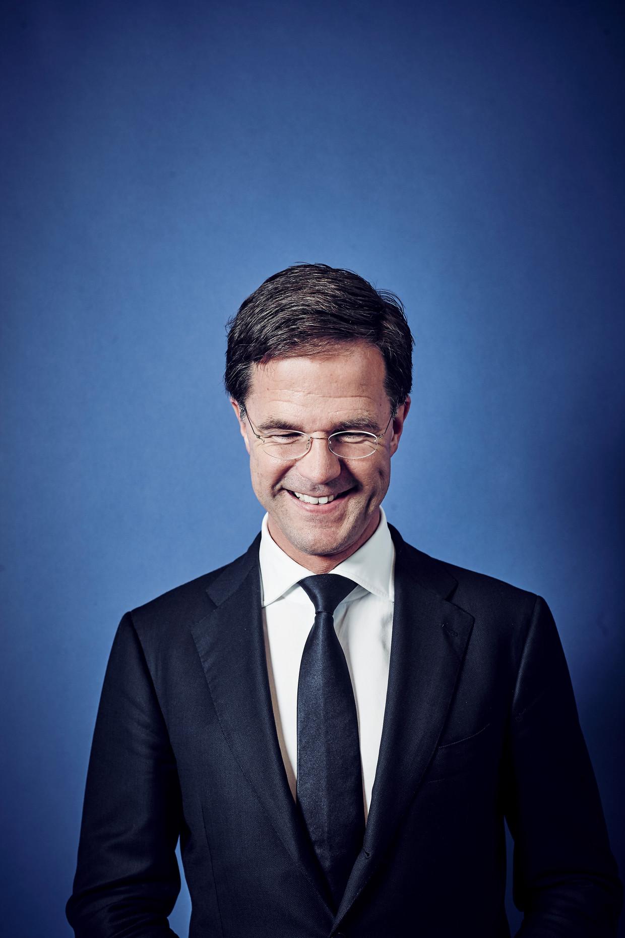Mark Rutte is tien jaar premier van ons land en daarmee een van de langstzittende ooit. Beeld Iris Planting/Lumen