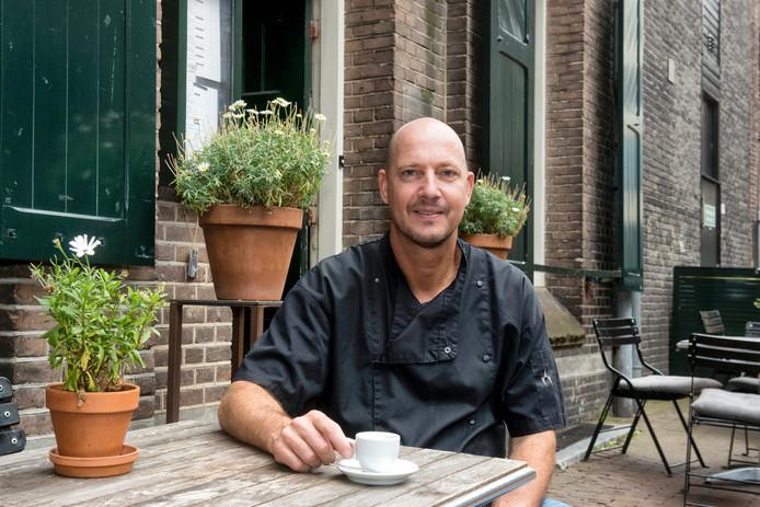 Eigenaar Edwin Oonincx van Café Verheyden.