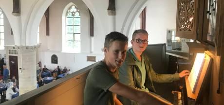 Afscheid met concert door vijftienjarige orgelvrienden