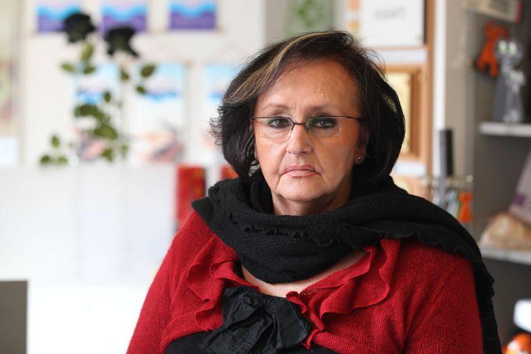 Marina Lapouter, de dochter van Willy Lustenhouwer.
