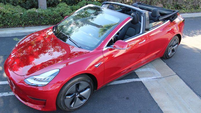 Tesla Model 3 Cabriolet
