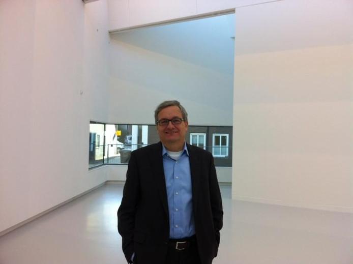 Directeur Charles de Mooij in een van de nieuwe expositieruimtes van het Noordbrabants Museum. foto Robèrt van Lith/BD