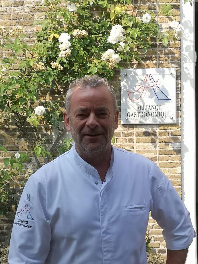 Marcel van Zomeren, chef-kok en eigenaar van restaurant In Den Rustwat in Kralingen.