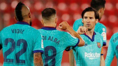 Messi meteen op de afspraak: met twee assists en goal wijst hij Barcelona de weg