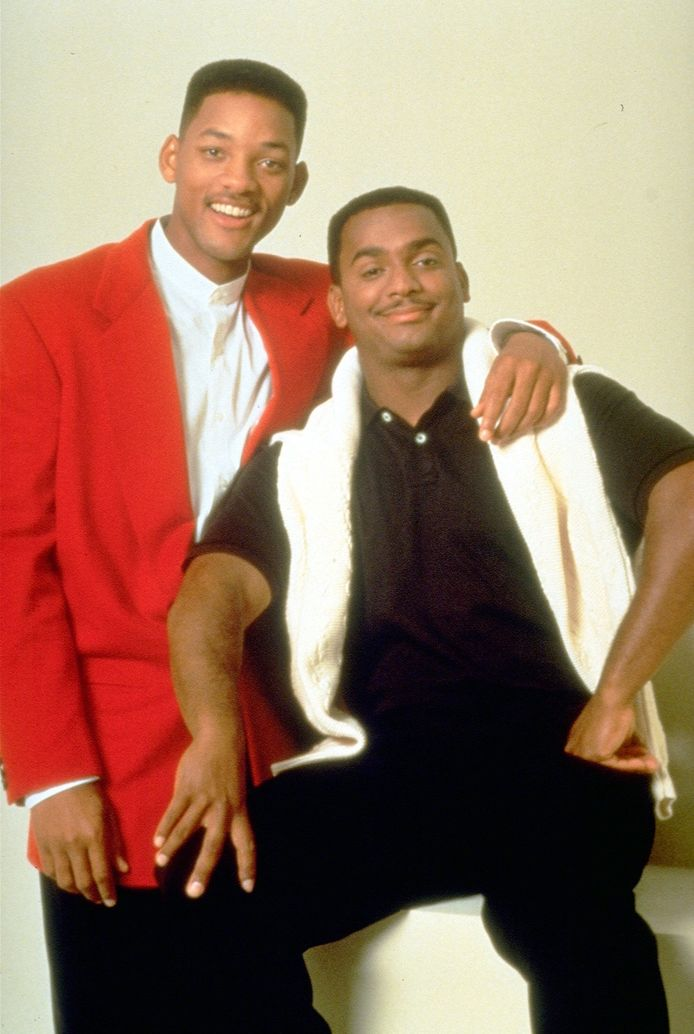 Will Smith en Alfonso Ribeiro.