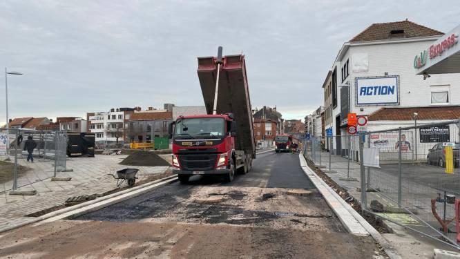 Kruispunt Appel nog niet open, weer te slecht voor derde laag asfalt