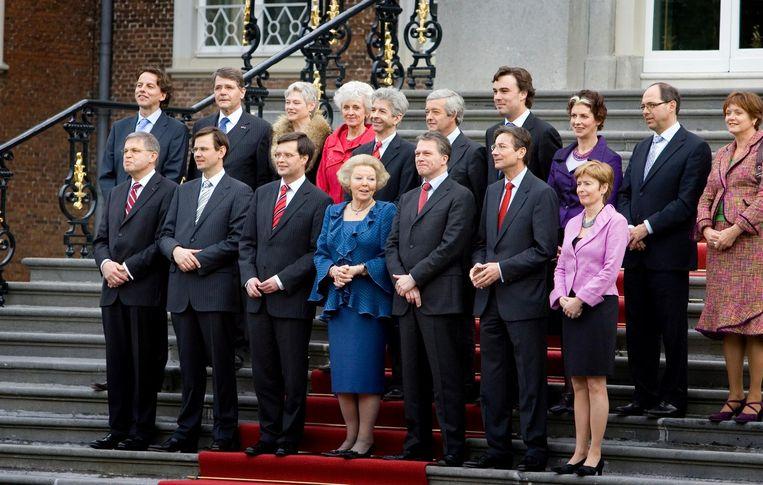 Kabinet Balkenende IV (2007). Beeld Capital Photos