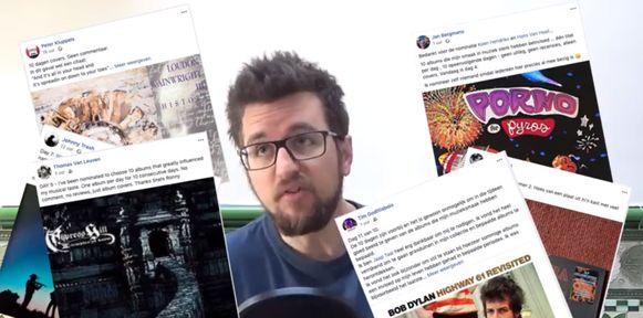 """Komiek Jasper Posson roept op: """"Laat de nominatiespam op Facebook alstublieft stoppen."""""""